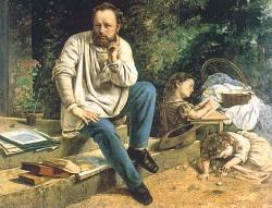 Pierre - Joseph Proudhon e suas filhas