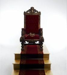 trono do rei