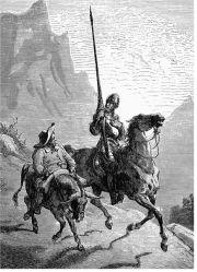 Dom Quixote e Sancho Pança