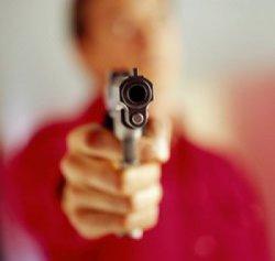 Apontando o revolver